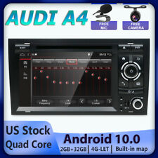"""7"""" Android 10.0 Car Stereo For Audi A4 S4 B6 RS4 GPS Radio CD DVD Head Unit DAB+"""
