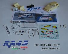 1/43 Kit OPEL CORSA GSI THIRY RALLY YPRES 2019