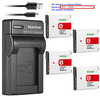 Kastar Battery Slim Charger for Sony NP-BG1 NPFG1Sony Cyber-shot DSC-N2 Camera
