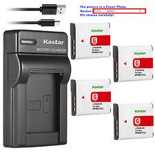 Kastar Battery Slim USB Charger for Sony NP-BG1 NP-FG1 & Sony Cyber-shot DSC-W55