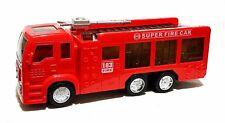2 X Jouet Enfants Pompier Camion de Auto Éclairage Led Sirene Autopropulsé