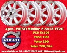 4 Cerchi Volvo  100, 200, 700, 900 5.5x15 5x108  Wheels Felgen Llantas Jantes
