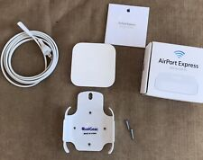 Apple AirPort Express A1392 WiFi Router 2nd Gen AirPlay 2 - BUNDLE - WALL MOUNT!