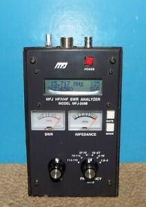 MFJ-259B HF/VHF SWR Analyzer Ver 4.35 Free Shipping