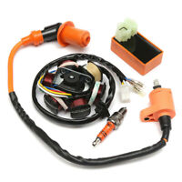 Ignition Coil CDI Spark Plug Magneto Stator For GY6 125cc /150cc Moped Scoo Gw