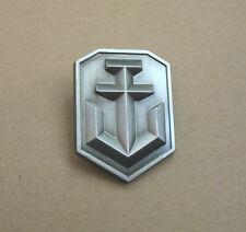 World of Tanks Warplanes Warships promo Metal Pin very Rare from Gamescom 2014