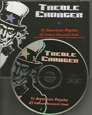 TREBLE CHARGER American Psycho 2001USA PROMO Radio DJ CD single MINT