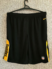 Mint Pittsburgh Steelers Nike Onfield Apparel NFL Football Shorts Mens Size XL
