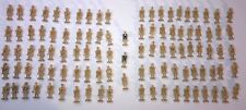 LEGO lot of 103 Battle Droid Minifigures Minifigs Bulk Original w/ yellow, blue