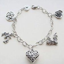 bijou gothique vampires diaries Bracelet  coeur de Caroline veine de vénus