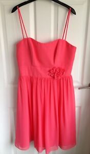 Ladies Coral/Pink Alfred Angelo Occasion Dress  - Size 14 BNWT