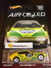 Volkswagen SP2 * Yellow * AIR Cooled Car Culture Case H * 2017 Hot Wheels