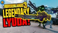 All 5 Lyuda Sniper Elements Anointed Legendary Borderlands 3 Xbox One