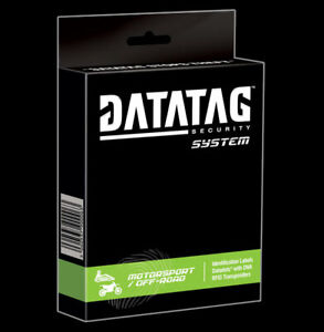 datatag Motorcycle security system. Motocross, Race, scooter