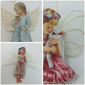 """BRADFORD EDITIONS """"HEAVENS LITTLE ANGELS COLLECTION""""  BY DONNA gelsinger Hanging"""