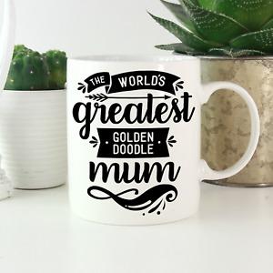 Goldendoodle Mum Mug: Gifts for Goldendoodle owners & lovers! Golden Doodle
