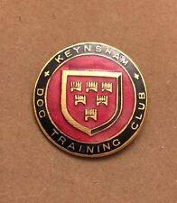 Vintage ENAMEL KEYNSHAM ENGLAND KENNEL CLUB  DOG TRAINING Club PIN,BADGE BROOCH