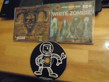 RARE PROMO White Zombie CD Astro-Creep: 2000 ROB metal HALLOWEEN Famous Monsters