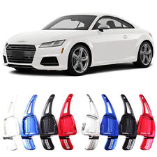 Alloy Steering Wheel DSG Paddle Extension Shifters Cover Fit For Audi TT 16-18