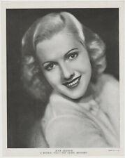 Jean Arthur 1936 R95 8x10 Linen Textured Printed Photo - Vintage Premium