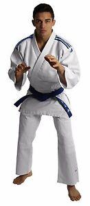 adidas Club Judo Suit 350g Uniform White Student Adult Gi Free White Belt 13oz