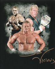 WWE SIGNED PHOTO SID VICIOUS SIGNED WRESTLING PROMO PSYCHO WCW WWF