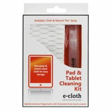 E-Cloth Tablet iPad, teléfono & Kit De Limpieza Tela & 10 Ml Spray eliminar marcas de dedo
