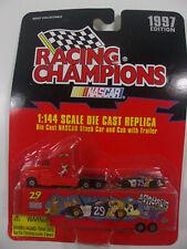 Racing Champions 1/144 NASCAR Stock Car Truck Trailer #29 Cartoon Network 1997