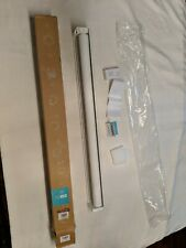"""CHICOLOGY Cordless Roller Shades 34""""W X 72""""H, White/Magnolia NEW"""