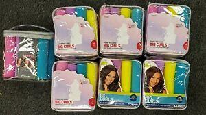 (7) Beauty 360/Conair 8 pack Big Curls Foam Rollers - New