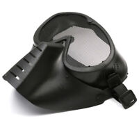Black Army Skeleton Airsoft Paintball Game Tactical Face Protect Mask Goggles cy