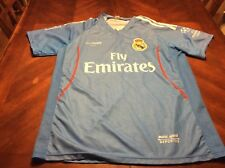 Madrid Football Club Fly Emirates Blue Marc Sport Jersey Size S Luis #2