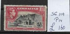 GIBRALTAR  @ 1938  S.G 129   P14     @ Gib.41