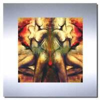 Bild auf Metall moderne erotische Kunst auf Aluminium Designer Bilder Wandbilder