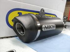 AUSPUFF ARROW RACE-TECH BLACK CARBONENDKAPPE KTM 1290 SUPERDUKE R AB 2014 s