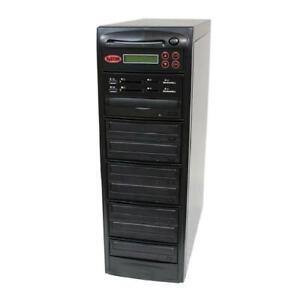 SySTOR 1-7 MultiMedia PLUS - Flash Memory to Disc Backup+DVD Duplicator