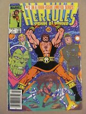 Hercules Price of Power #1 Marvel 1984 Canadian Newsstand $0.75 Price Variant