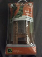 Kb Sock Knitting Loom Adjustable (Infant to Adult) Board New with Dvd & Hook