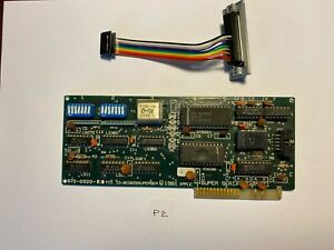 ✅ ⌘ APPLE II Computer SUPER SERIAL CARD II 670-0020 with Cable