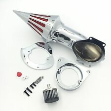 Spike Air Cleaner Intake Kits For 1995-2012 Kawasaki Vulcan 800 Classic  Chrome