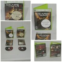 Xbox 360 Game Lot Of 2 Gears Of War 1 And 2