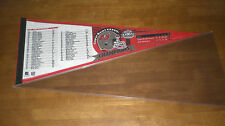 TAMPA BAY BUCCANEERS SUPER BOWL XXXVII PENNANT PLAYER ROSTER
