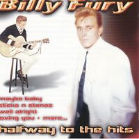 CD - Billy Fury - Halfway to the Hits  / #313