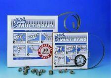 b12-00106 - JUBILEE # 174; 7mm Acero Inoxidable Incluye bañado en multibanda -