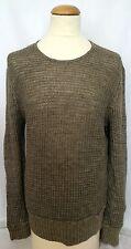 "$345.00 JOHN VARVATOS GREY LABEL Khaki XL Linen & Cotton Sweater *Make An Offer"""