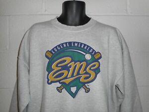 Vintage 2005 Eugene Emeralds Minor League Baseball Sweatshirt XL