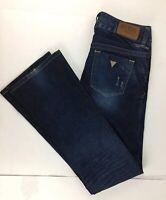 GUESS Los Angeles  Women's Blue Jeans Flare Leg Stretch W 27 X L 32