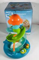 Fabulous ELC Bath Time Floating Island Playset Helter Skelter Slide Waterwheel