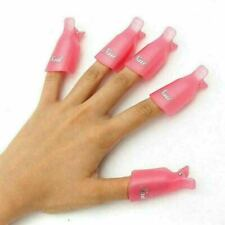 CCO Wearable Soaker Wrap for Nails - 10 Pieces Pink
