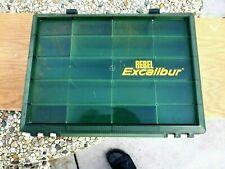 Vintage Rebel Excalibur 40 Tackle Box. Very Good Condition